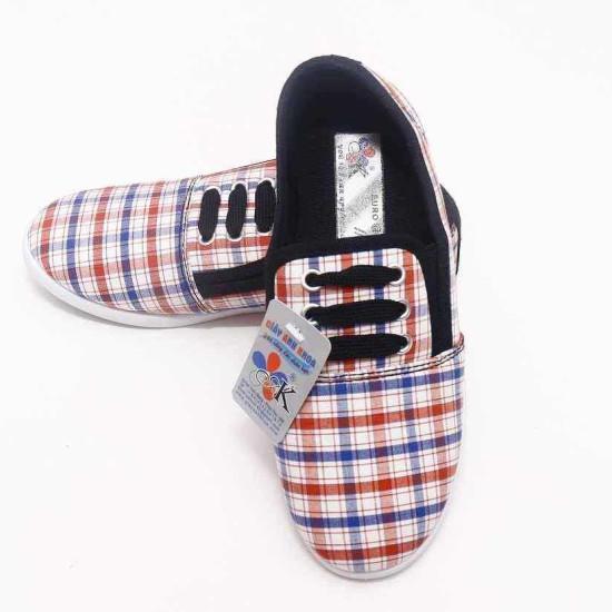giày Anh Khoa-AK16-kẻ dây đen-