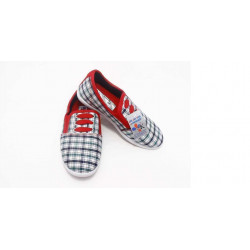 giày Anh Khoa-AK16-kẻ dây đỏ