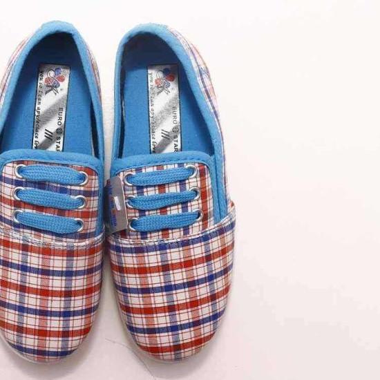 giày Anh Khoa-AK16-kẻ dây xanh-