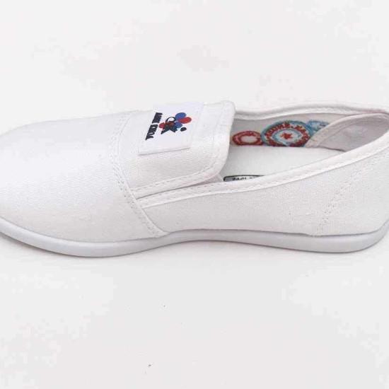 giày Anh Khoa-AK17-trắng không dây-
