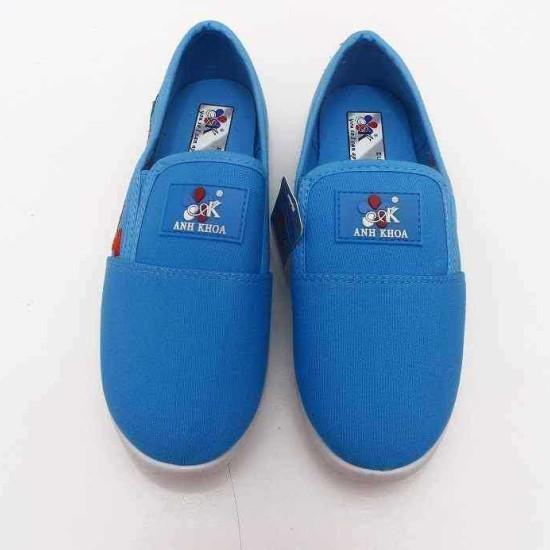 giày Anh Khoa-AK17-xanh lam thêu-