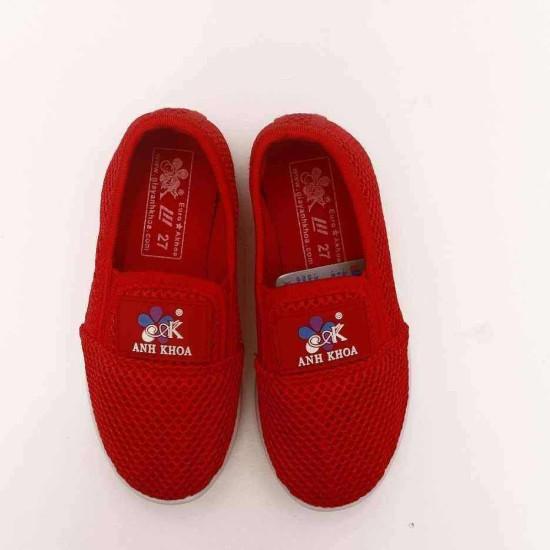 giày Anh Khoa lưới đỏ-AK12-đỏ-