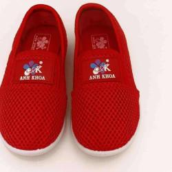 giày Anh Khoa lưới đỏ-AK12-đỏ