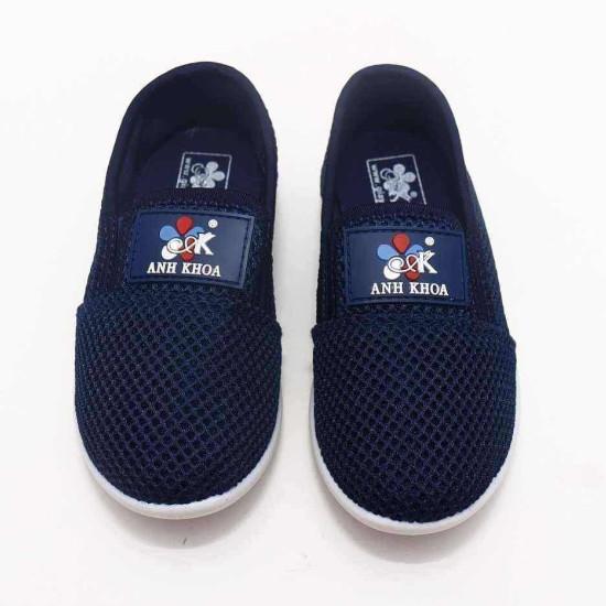 giày Anh Khoa lưới xanh đen-AK12-