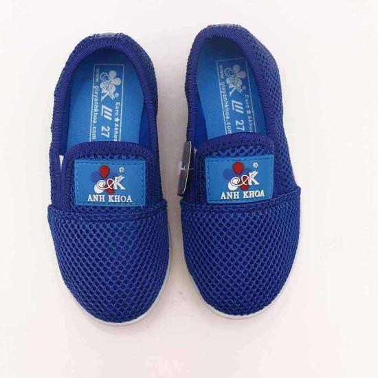giày Anh Khoa lưới xanh dương-AK12-