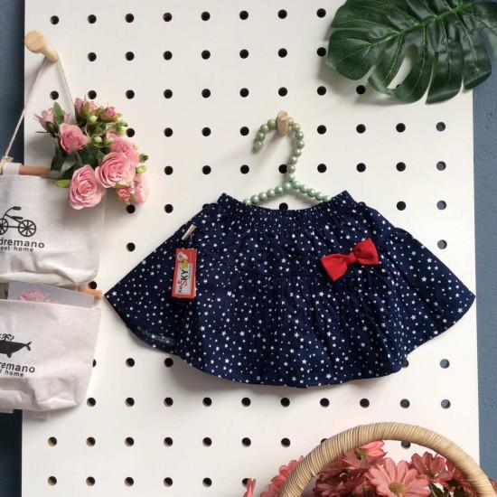 Chân váy hoa thô kèm quần-CHÂN  VÁY XUÂN HÈ SIZE BÉ - TRUNG