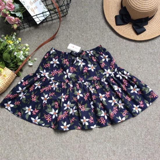 Chân váy hoa thô kèm quần size đại S - XL