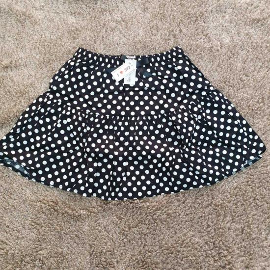 Chân váy hoa thô kèm quần size cực đại S - XL