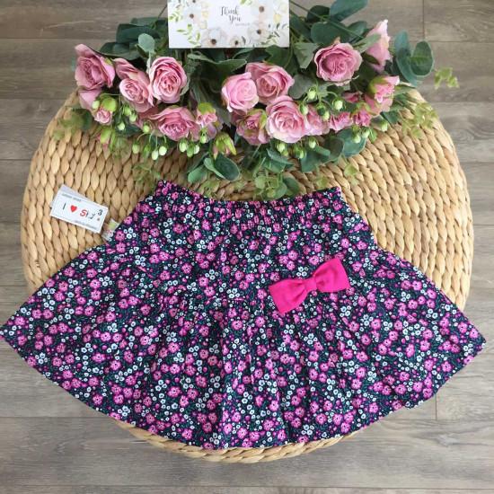 chân váy hoa thô xuân hè bé gái size 3- 10
