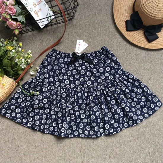 Chân váy hoa thô kèm quần size đại S - XL-