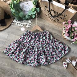 Chân váy hoa thô kèm quần cotton size đại s - xl