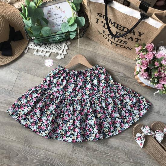 Chân váy hoa kèm quần size đại s - xl-