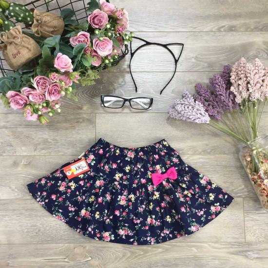 chân váy xuân hè hoa thô bé gái