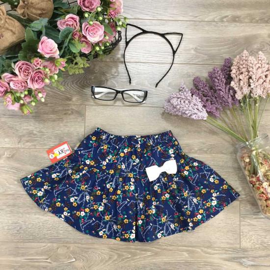 chân váy xuân hè hoa thô bé gái-CHÂN  VÁY XUÂN HÈ SIZE BÉ - TRUNG