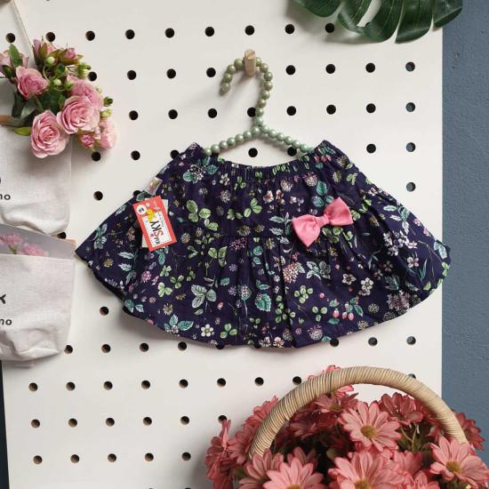 Chân váy hoa thô kèm quần size đại 6-10 - cv36235