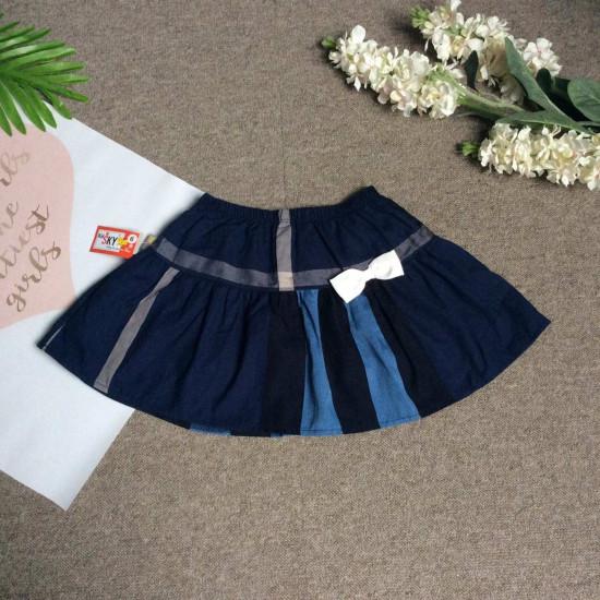 chân váy kẻ kèm quần BBR - cvk29195
