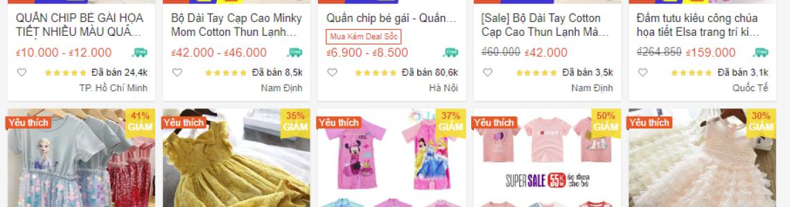 Có nên bán quần áo trẻ em Onlinekhông?