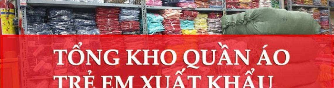 Tổng kho sỉ quần áo trẻ em - giao hàng toàn quốc