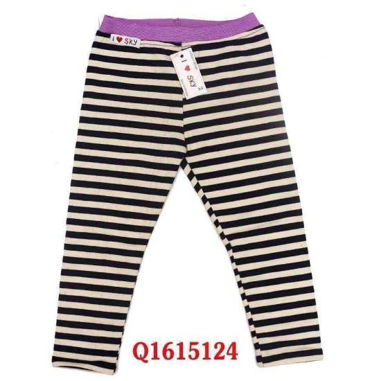 Legging kẻ cotton chất dày-Q1615124-
