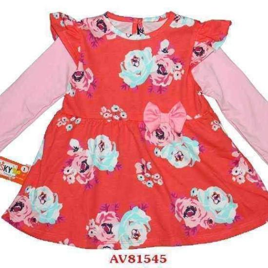 váy hoa cotton-AV81545-