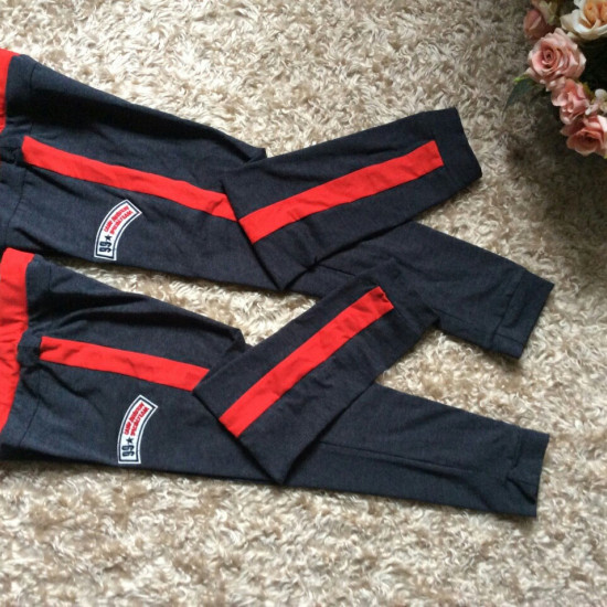 quần bé trai sườn đỏ thể thao-