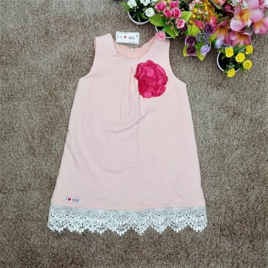 Váy A ren gấu - V126255-VÁY THU ĐÔNG BÉ GÁI