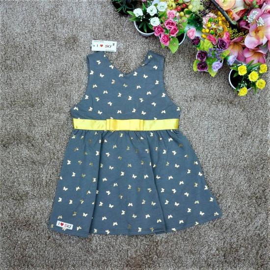 Váy nhũ bé gái - V126245-VÁY THU ĐÔNG BÉ GÁI