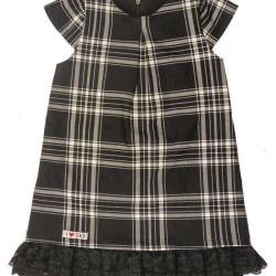 váy dạ kẻ chun-V115255