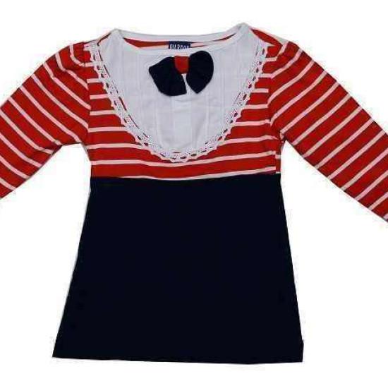 váy kẻ bé gái-V588-
