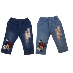 quần jean in hình mickey bé gái- Q2578