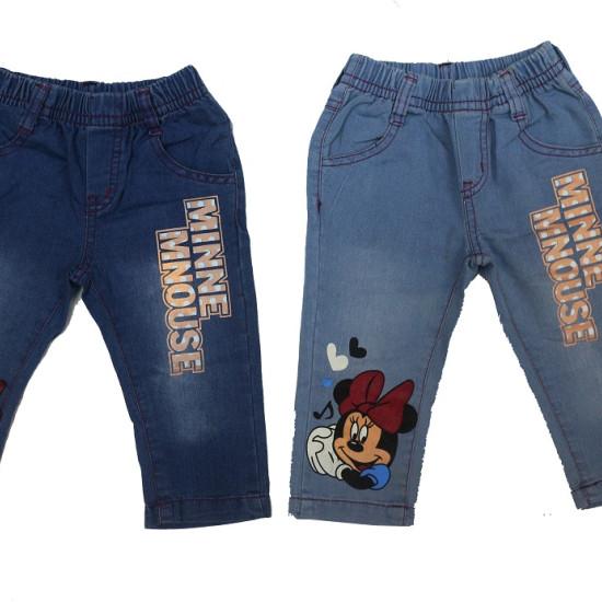 quần jean in hình mickey bé gái- Q2578-