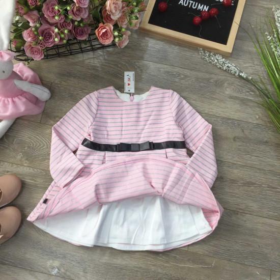 bán sỉ váy thu đông dài tay 2 lớp bé gái - đại lý phân phối hãng KIDSKY