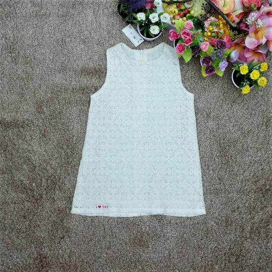 váy ren 2 lớp dáng A-V815225-VÁY THU ĐÔNG BÉ GÁI