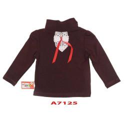 áo cổ lọ bé gái-A7125