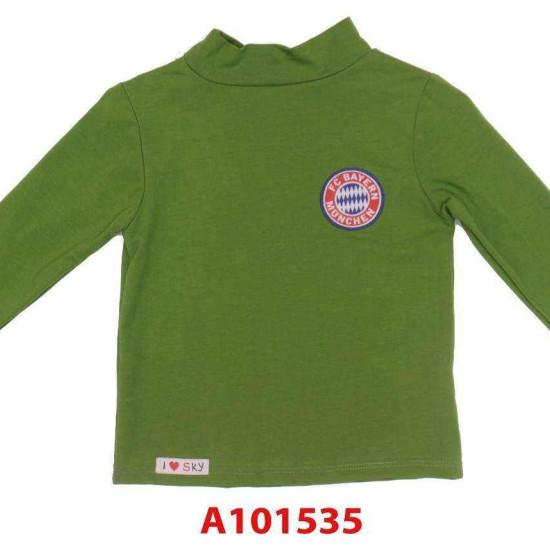 áo cổ lọ cotton bé trai-A101535-