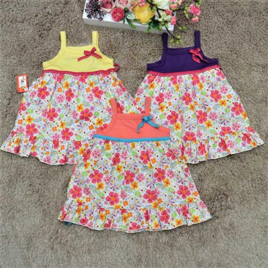 váy 2 dây chân hoa thô- V2DH5