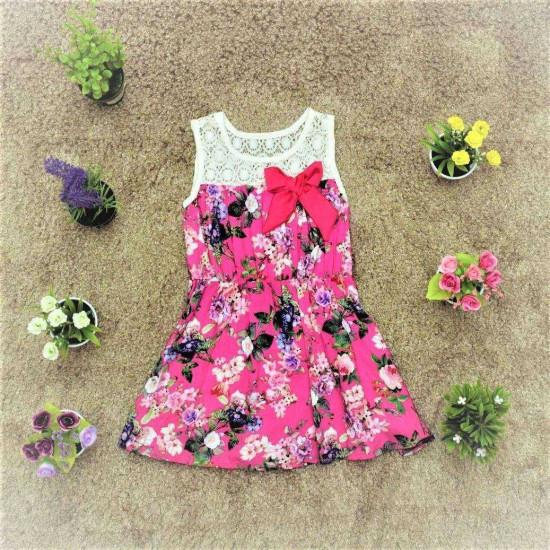 váy lanh chun eo -V415225