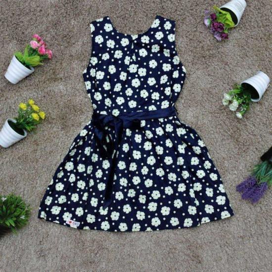 váy thô hoa size đại - V615175