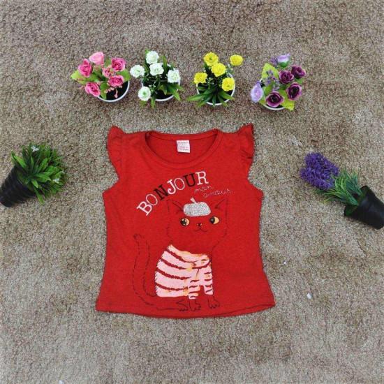 áo cotton 4 chiều hình mèo - A315108-XẢ HÀNG HÈ ĐỒNG GIÁ 25K