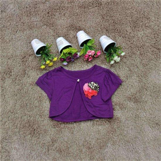 áo fullhose hoa lụa bé gái- F6