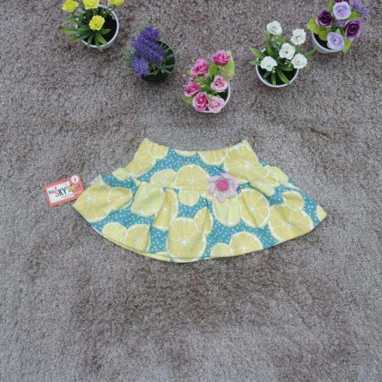 chân váy cotton hoa - cv1445-CHÂN  VÁY XUÂN HÈ SIZE BÉ - TRUNG