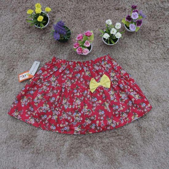 Chân váy hoa thô size đại - CV36235