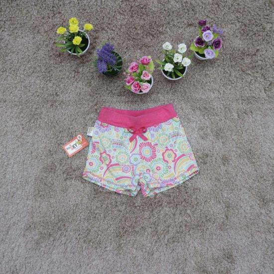 quần sooc  hoa cotton bé gái - SH5-QUẦN XUÂN HÈ BÉ GÁI