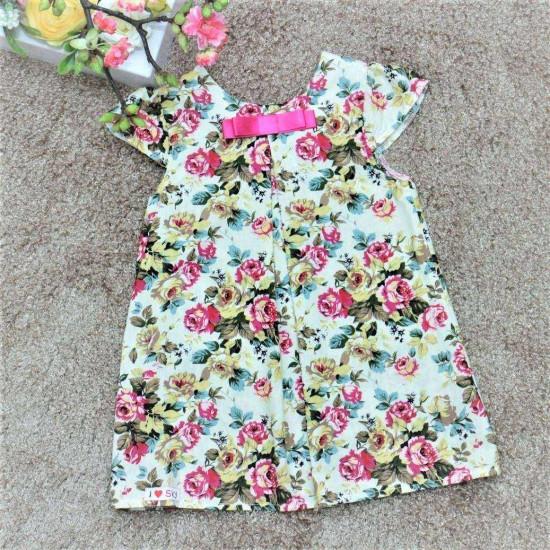 váy thô hoa tay hến- V615215
