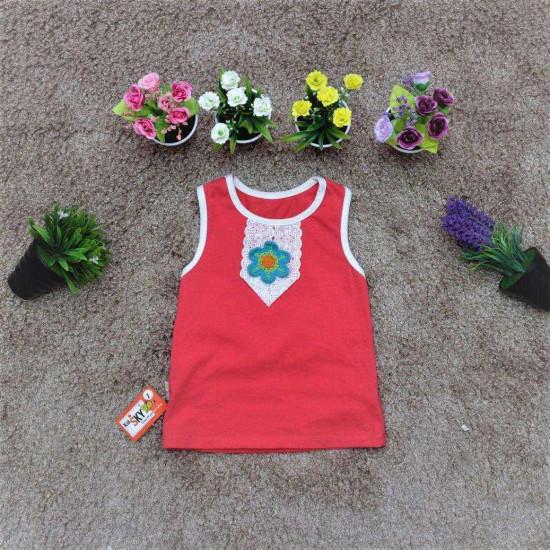 áo cotton sn hoa  ngực - A2455-XẢ HÀNG HÈ ĐỒNG GIÁ 25K