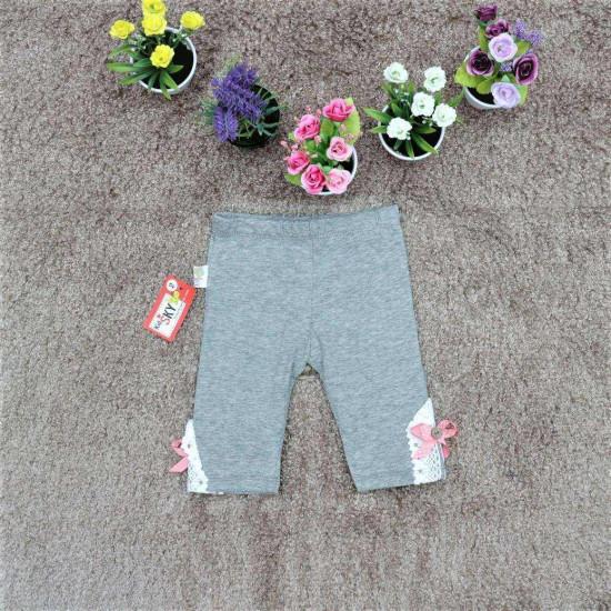 quần legging nơ gấu bé gái - Q26157