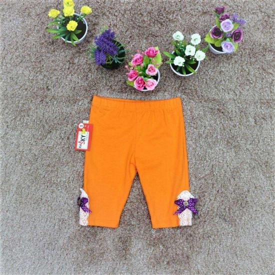 quần legging nơ gấu bé gái - Q26157-QUẦN XUÂN HÈ BÉ GÁI