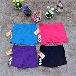 quần đùi 3 hoa bé gái- S3H6