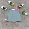Áo hai dây nơ cotton - A4655-