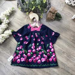 Áo váy chân nơ tay lỡ -AV78275